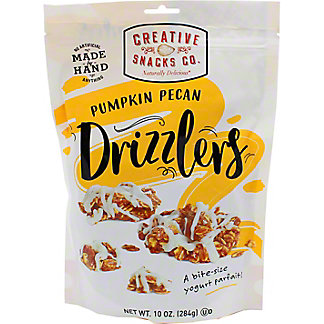 Creative Snacks Co. Pumpkin Pecan Drizzlers, 10 oz