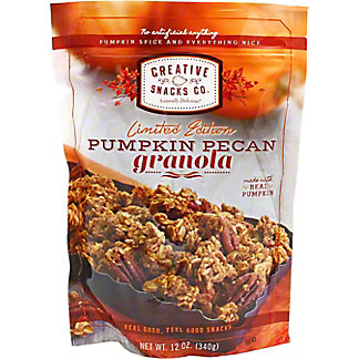 Creative Snacks Co. Pumpkin Pecan Granola, 12 oz