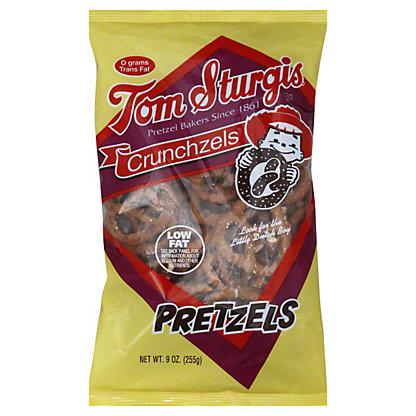 Tom Sturgis Crunchzels Pretzels, 9 oz