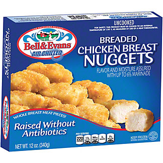 Bell & Evans Breaded Chicken Breast Nuggets, 12 oz