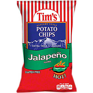 Tim's Cascade Jalapeno Potato Chips, 2 oz