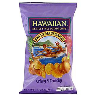 Hawaiian Sweet Maui Onion Potato Chips, 7.5 oz