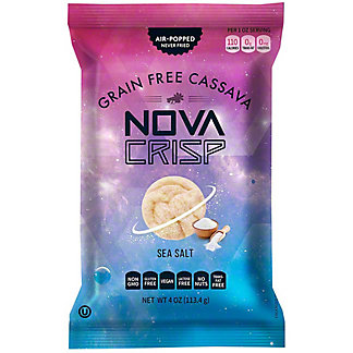 Nova Crisp Sea Salt Cassava Crisps, 4 oz