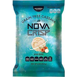 Nova Crisp Maui Onion Cassava Crisps, 4 oz