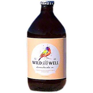 Wild And Well Kombucha Fredericksburg Peach Kombucha, 11 oz
