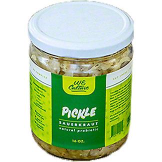 We Culture Pickle Sauerkraut, 16 oz