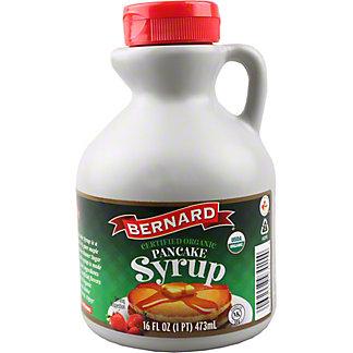 Bernard Organic Pancake Syrup, 16 fl oz
