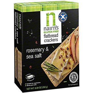 Nairn's Gluten Free Rosemary And Sea Salt Flatbread Crackers, 5.29 oz