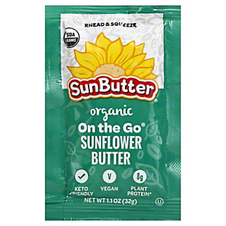 Sunbutter Organic Sunflower Butter Packet, 1.1 oz