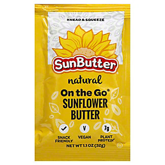 Sunbutter Natural Sunflower Butter Packet, 1.1 oz