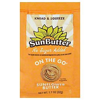 Sunbutter No Sugar Added Sunflower Butter, 1.10 oz