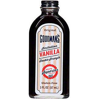 Goodman's Original Vanilla Flavor, 3 oz