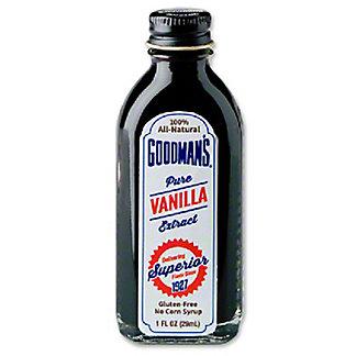 Goodman's Pure Vanilla Extract, 1 fl oz