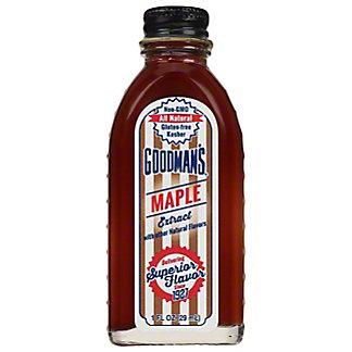 Goodman's Maple Extract, 1 fl oz