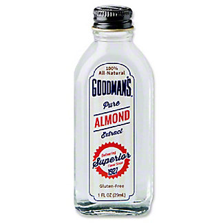Goodman's Pure Almond Extract, 1 oz
