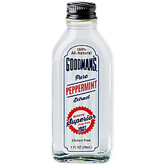 Goodman's Pure Peppermint Extract, 1 oz