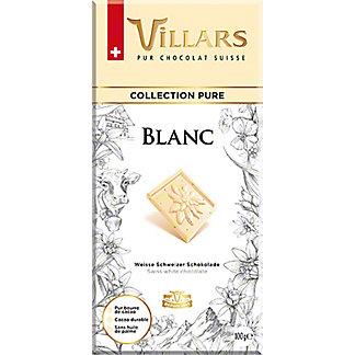 Villars Pure Collection White Chocolate Bar, 3.5 oz