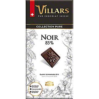 Villars Pure Collection Dark Chocolate 85% Cocoa Bar, 3.5 oz