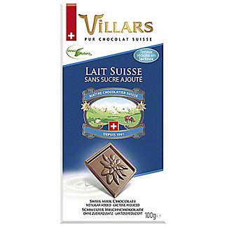 Villars Sugar Free & Lactose Reduced Milk ChocolateBar, 3.5 oz