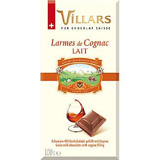 Villars Milk Chocolate With Cognac Brandy Filling, 3.5 oz