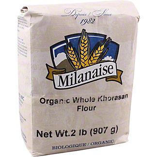 Milanaise Organic Whole Khorasan Flour, 2 lb