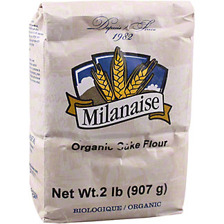 Milanaise Organic Cake Flour, 2 lb