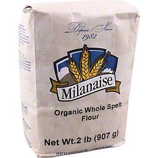 Milanaise Organic Whole Spelt Flour, 2 lb