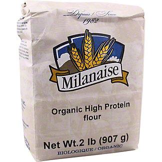 Milanaise Organic High Protein Flour, 2 lb