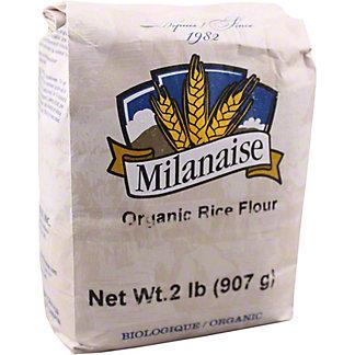 Milanaise Organic Rice Flour, 2 lb