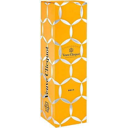 Veuve Clicquot Yellow Label Brut Champagne Gift Box, 750 ml
