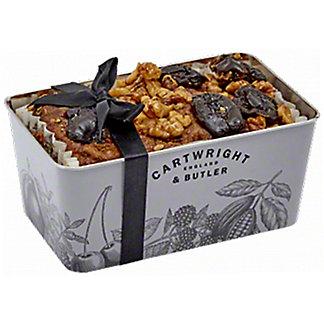 Cartwright & Butler Date & Walnut Loaf Cake, 19.4 oz