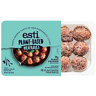 Esti Plant-Based Meatballs, 7.9 oz