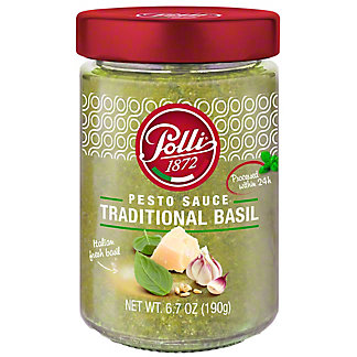Polli Pesto Sauce Traditional, 6.7 oz