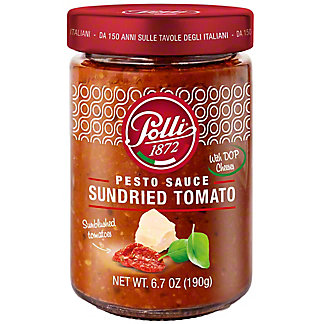 Polli Pesto Sauce Sundried Tomato, 6.7 oz