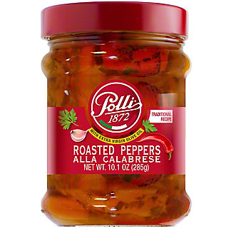 Polli Grilled Peppers Alla Calabrese, 10 oz