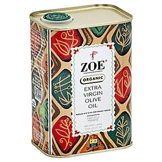 Zoe Organic Extra Virgin Olive Oil, 25.5 oz