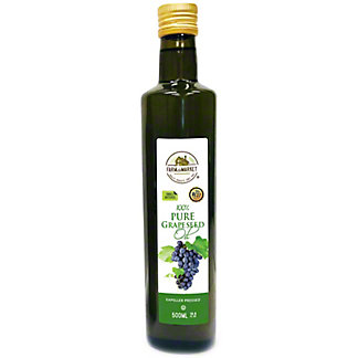 Farm To Market PureGrapeseed Oil, 500 ml
