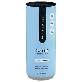 Pop & Bottle Classic Oat MilkAdaptogenCold BrewLatte, 8 fl oz