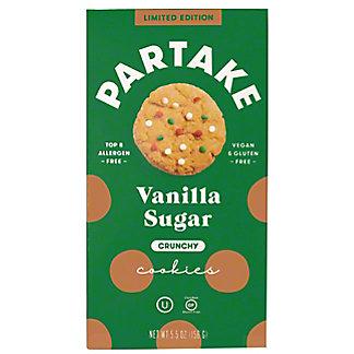 Partake Foods Vanilla Sugar Crunchy Cookies, 5.5 oz