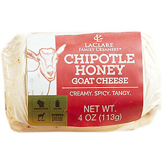 Laclare Family Creamery Chipotle Honey Goat Cheese, 4 oz