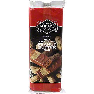 Kohler Milk Chocolate Peanut Butter Bar, ea