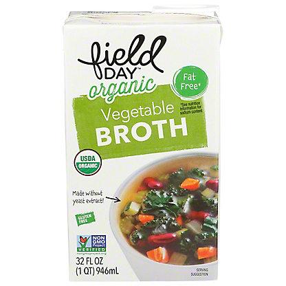 Field Day Organic Vegetable Broth, 32 fl oz