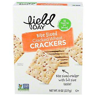 Field Day Organic Stoneground Wheat Cracker, 8 oz