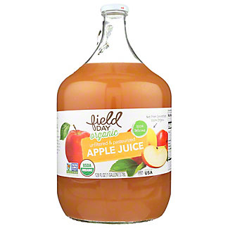 Field Day Organic Apple Juice, 1 gal