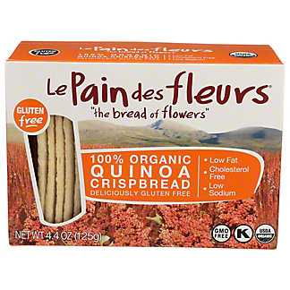 Le Pain Des Fleurs Organic Quinoa Crispbread, 4.4 oz