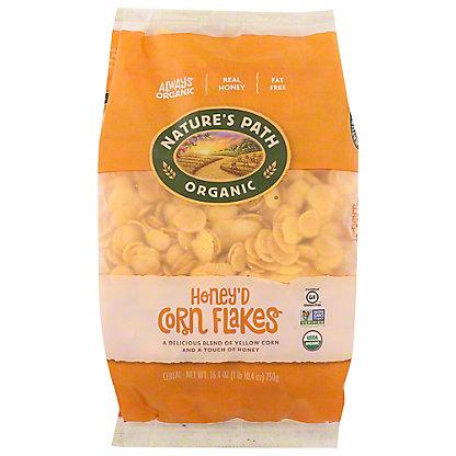 Nature's Path Organic Honey'd Corn Flakes, 26.4 oz