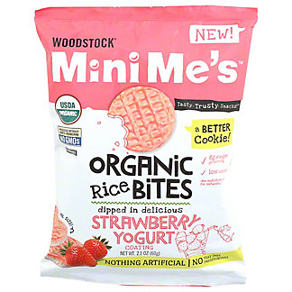 Woodstock Mini Me's Organic Strawberry Yogurt Rice Bites, 2.1 oz