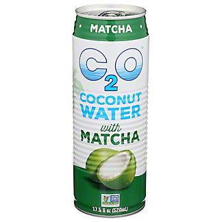 C2O Coconut Water with Matcha, 17.5 fl oz