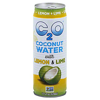 C2O Coconut Water with Lemon & Lime, 17.5 fl oz