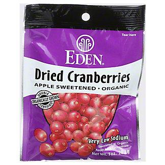 Eden Organic Dried Cranberries, 12 oz
